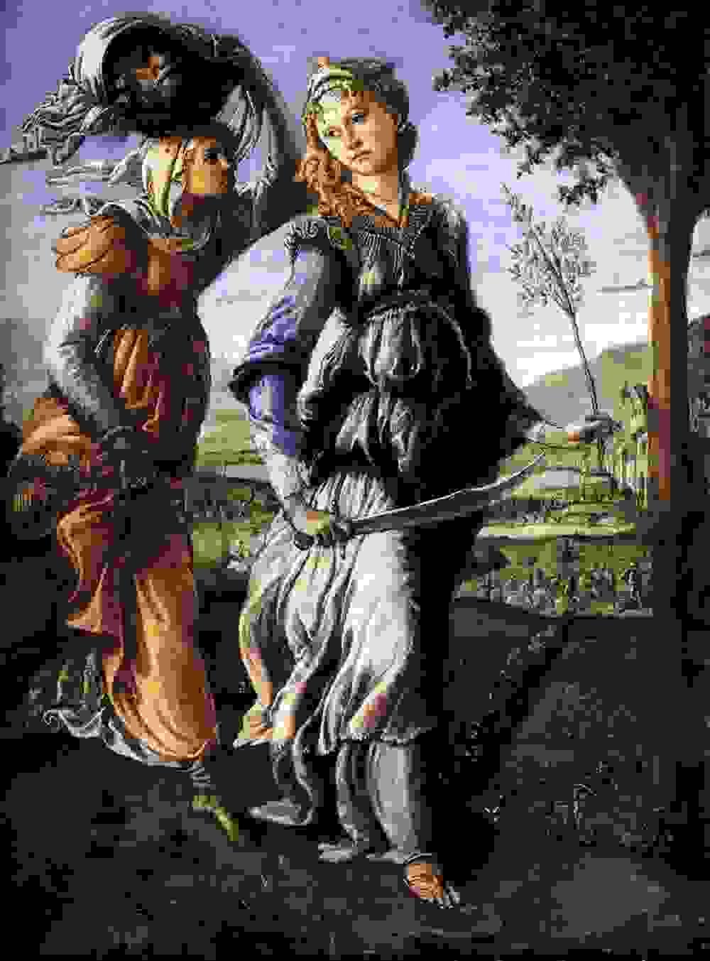 Botticelli 1472 Judith