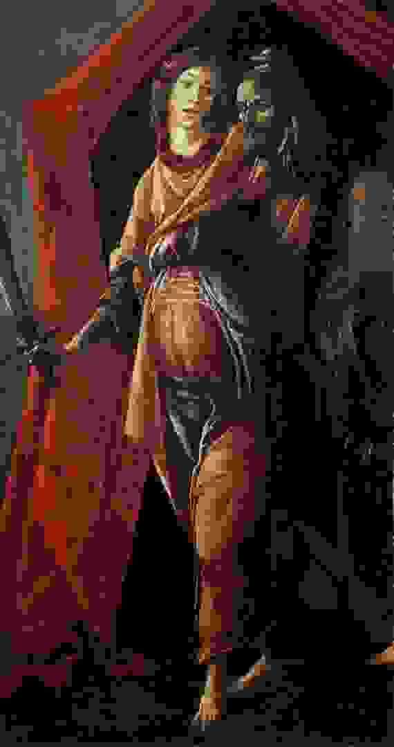 Botticelli 1500 Judith