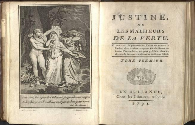 Μαρκήσιος ντε Σαντ – Ζυστίν ή οι δυστυχίες της αρετής