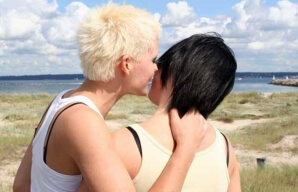 Emo έφηβος λεσβιακό σεξ